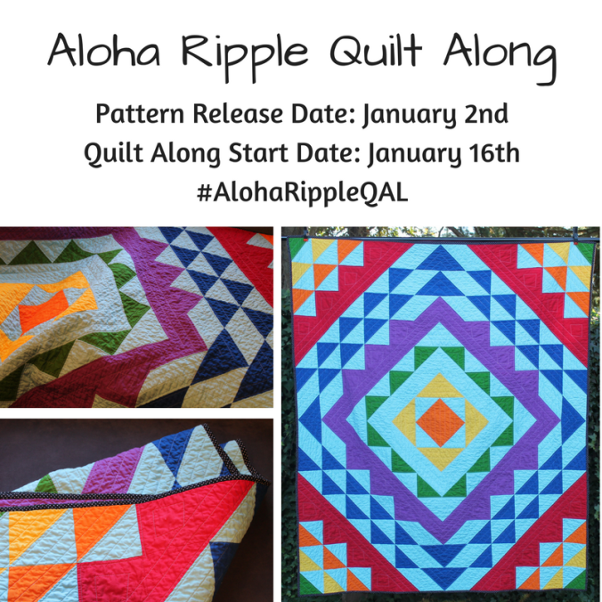 Aloha Ripple Quilt Along insta